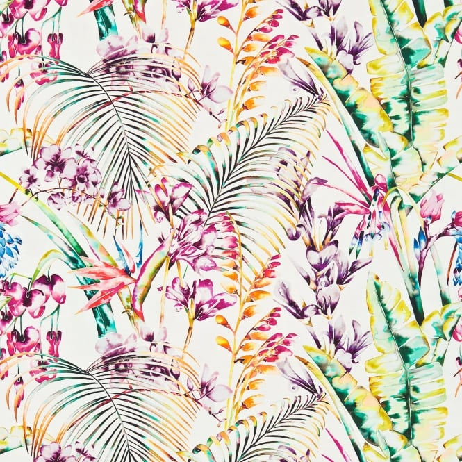 Harlequin HAMA120351 Paradise Papaya/Flamingo/Apple