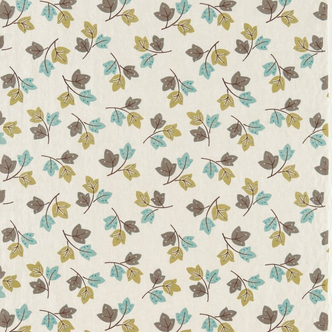 Harlequin HCON130225 Sylvia Neutral Chocolate Teal and Olive