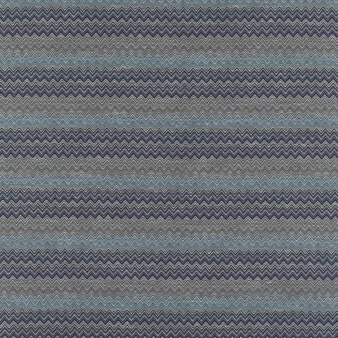 Harlequin HMOU130664 Chevron Cobalt Denim Ice Steel