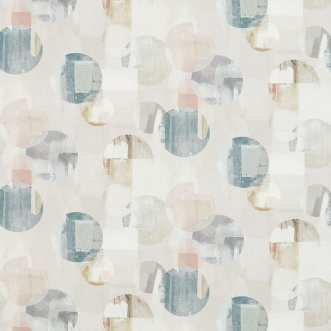 Harlequin Rondure Seaglass/Blush/Taupe Fabric 120688