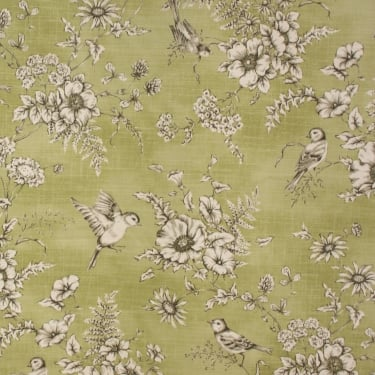 Finch Toile Willow Furnishing Fabric