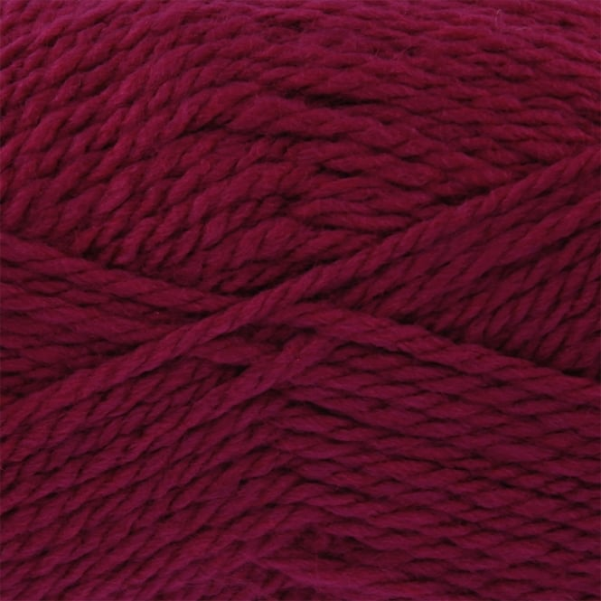 King Cole Baby Comfort Chunky 100g Knitting Yarn - Cerise