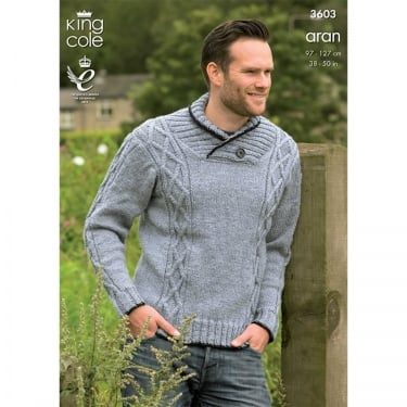 King Cole Cotton Aran Leaflet 3603