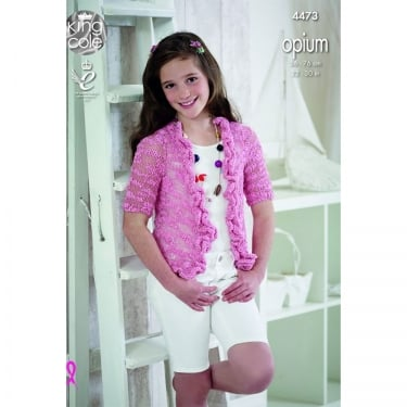 King Cole Opium Knitting Pattern 4473