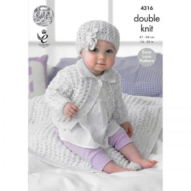 King Cole Smarty DK Baby Leaflet 4316