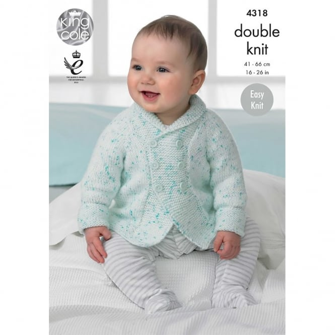 King Cole Smarty DK Baby Leaflet 4318