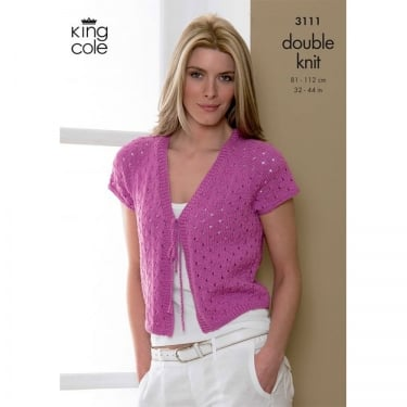 King Cole Smooth DK Knitting Pattern 3111