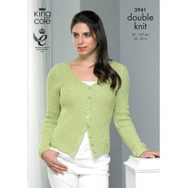 King Cole Smooth DK Knitting Pattern 3941