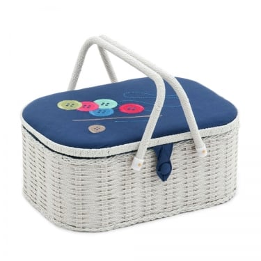 Large Button Sewing Box