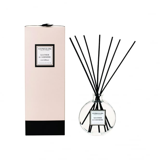 Leather & Cashmere Reed Diffuser