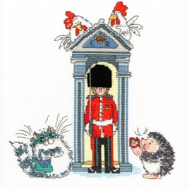 London On Parade Stitch Kit