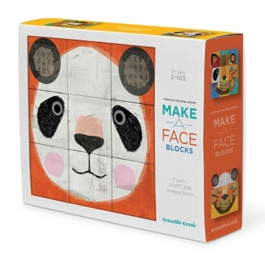 Make-A-Face Block Puzzle