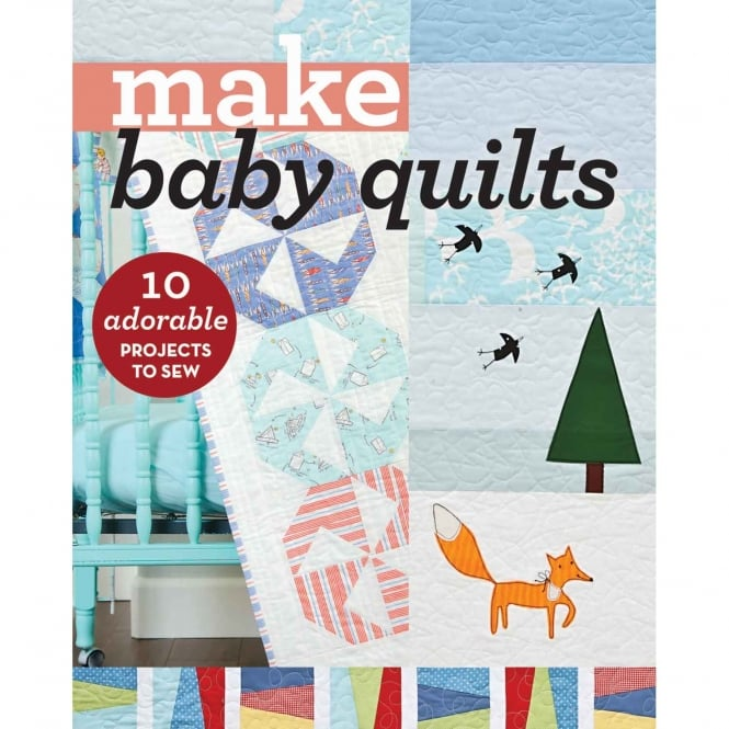 Closs & Hamblin Make Baby Quilts