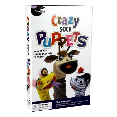Make & Play Crazy Sock Puppet Craft Kit