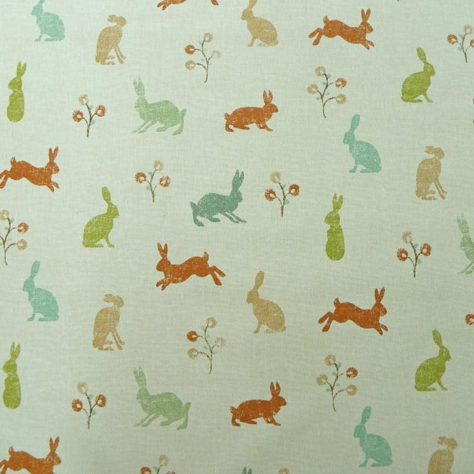 Marson Imports Hares Coral Cotton Curtain Fabric