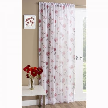 Meadow Red Voile Panels