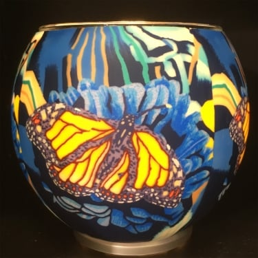 Monarch Butterflly Tealight Holder