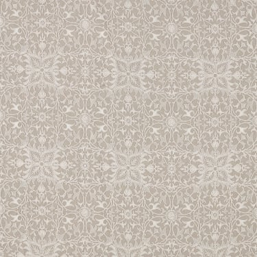236076 Pure Net Ceiling Embroidery Flax