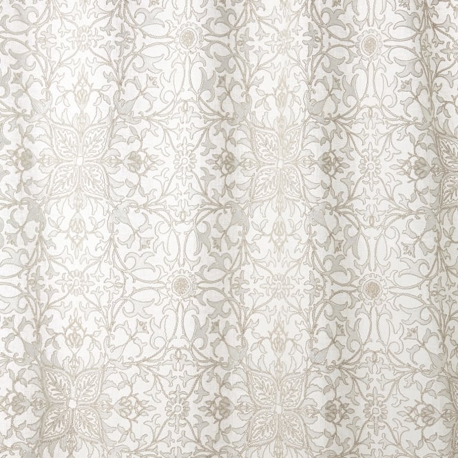 Morris & Co. 236077 Pure Net Ceiling Embroidery Paper White