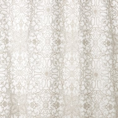 236077 Pure Net Ceiling Embroidery Paper White