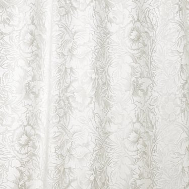 236080 Pure Poppy Embroidery Paper White