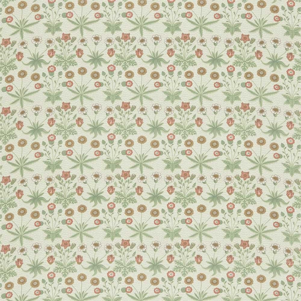 Daisy Dja1d1202 Green Gold Fabric