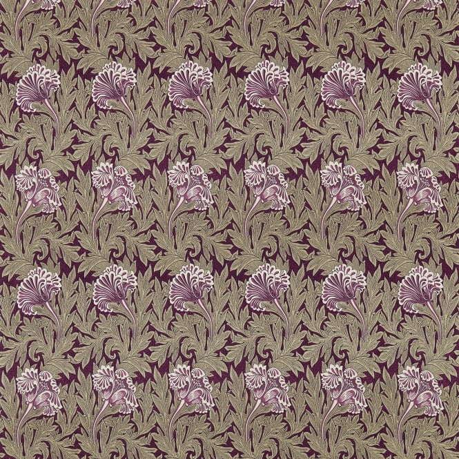 Morris & Co. DM3P224459 Tulip Heather/Olive