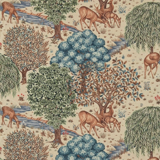 Morris & Co. DM3P224561 The Brook Tapestry Linen