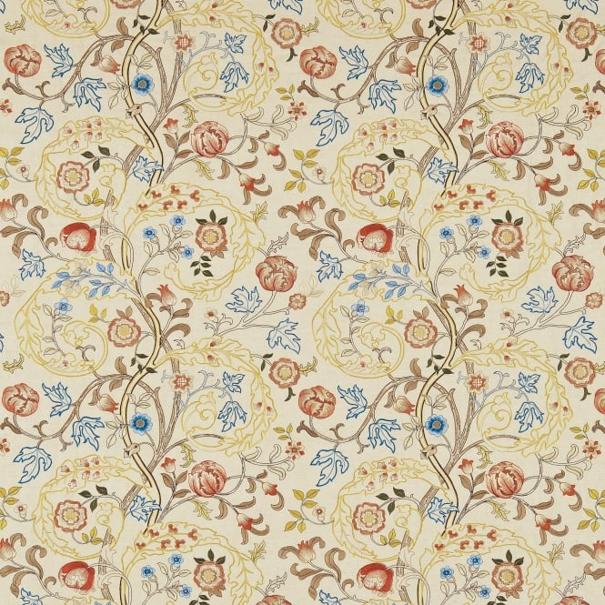 Morris & Co. DM6E230340 Mary Isobel Embroideries Russet/Olive
