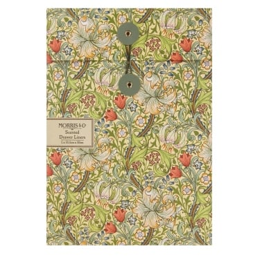 Morris & Co Golden Lily Scented Drawer Liners