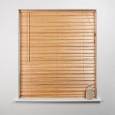 Natural 27mm Wood Venetian Blind