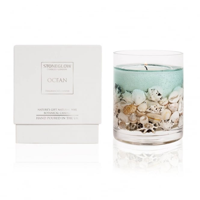 Natures Gift Ocean Gel Candle