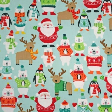 Novelty Christmas Scatter Cotton