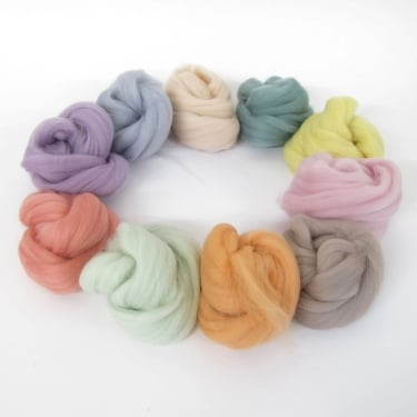 Pastels Merino Wool Bundle
