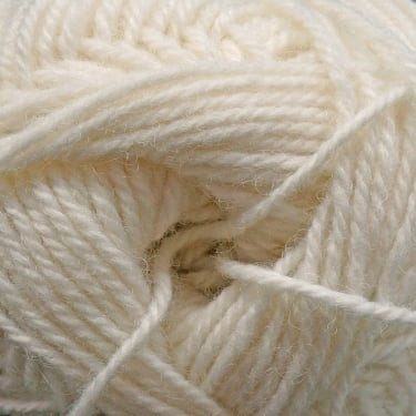 Patons Wool Blend Aran 100g Yarn - Cream (00002)