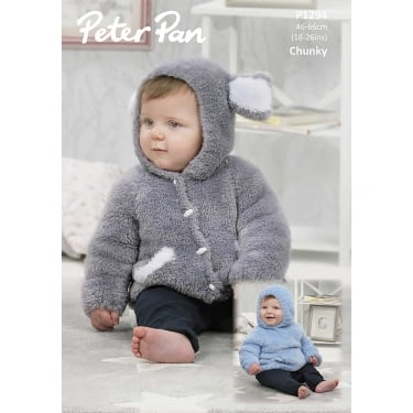 Peter Pan Precious Chunky Knitting Pattern 1294