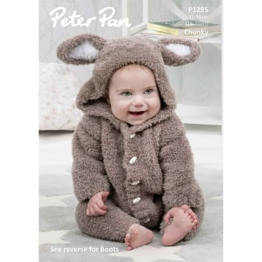 Peter Pan Precious Chunky Knitting Pattern 1295
