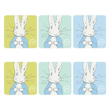 Peter Rabbit Contemporary Coasters