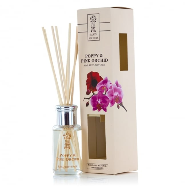 Poppy and Pink Orchid Diffuser
