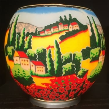 Poppy Fields Tealight Holder