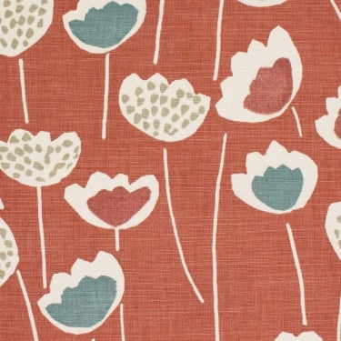 Clara Coral Reef Cotton Fabric