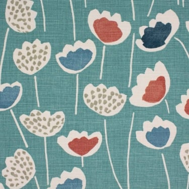 Clara South Pacific Cotton Fabric