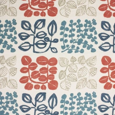 Cuba Coral Reef Cotton Fabric