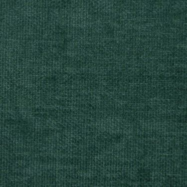 Havana Plain Peacock Green Chenille Fabric