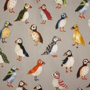 Puffin Pumice Cotton Fabric