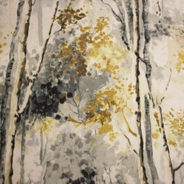 Silver Birch Shadow Cotton Fabric