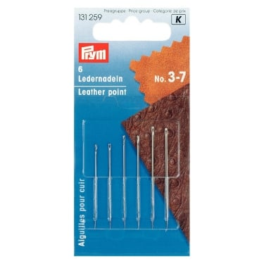 Prym Leather Needles - 3/7