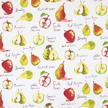 PVC Tablecloth - Autumn Fruits Watercolour (PVC5812/587)