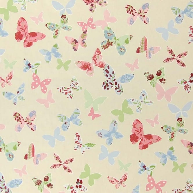 PVC Tablecloth - Butterfly Vintage (PVC5860/284)