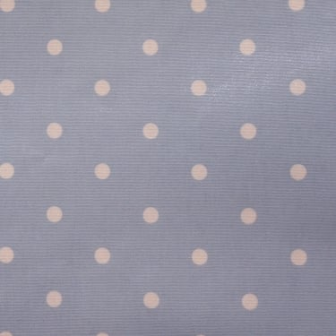 PVC Tablecloth Dotty Gloss - Powder Blue